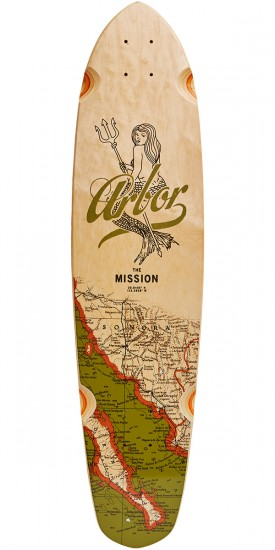 Arbor Mission Groundswell Longboard Deck - 2017