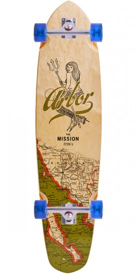 Arbor Mission Groundswell Longboard Complete - 2017