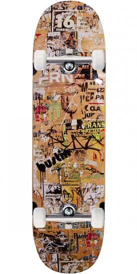 Bustin YoFace Brooklyn Arms Skateboard Complete