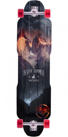 Never Summer Avalanche Longboard Complete - 2017