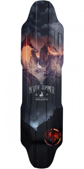 Never Summer Avalanche Longboard Deck - 2017