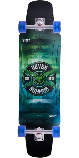Never Summer Covert Longboard Complete - 2017