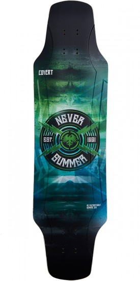 Never Summer Covert Longboard Deck - 2017
