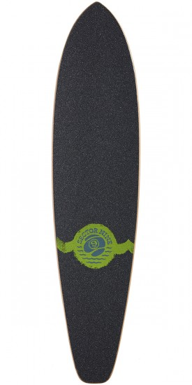 Sector 9 Highline Longboard Deck - Green - 2017
