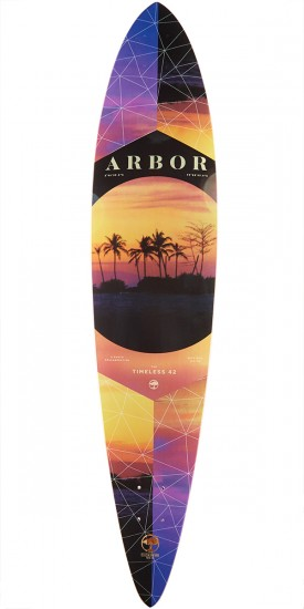Arbor Photo Collection Walnut Timeless Longboard Deck - 42""