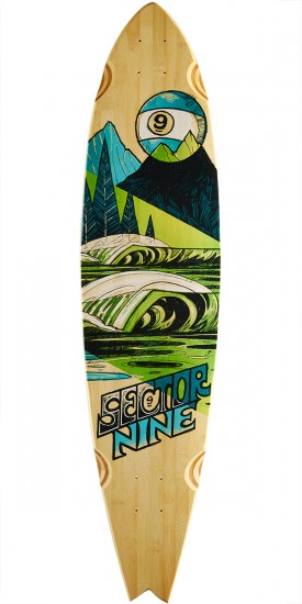 Sector 9 Offshore Longboard Deck - 39.5""