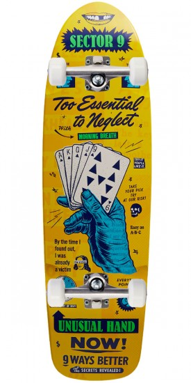 Sector 9 Royal Flush Skateboard Complete- 8.5