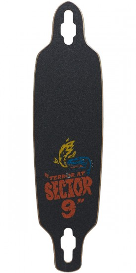 Sector 9 Mini Fractal Longboard Deck - 8.75