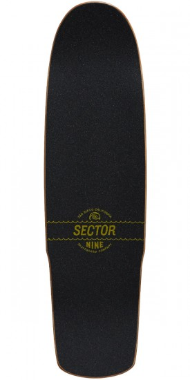 Sector 9 Cyclone Longboard Deck - Green - 8.5