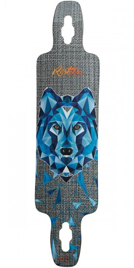 Restless Splinter 40 Wolf Longboard Deck - 2017