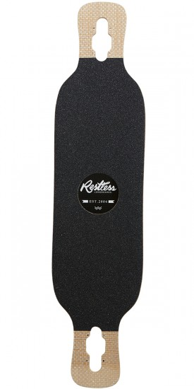 Restless Shredder Code Red Longboard Deck - 2017