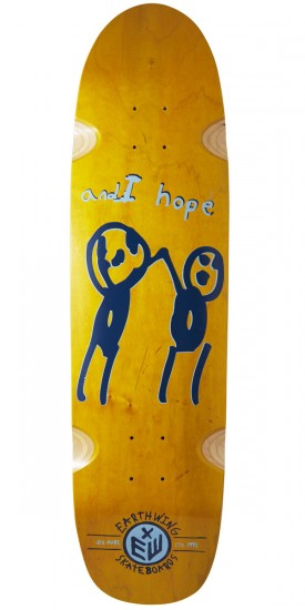 "Earthwing Hope 34"" Longboard Deck - Yellow"