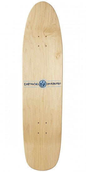 "Earthwing Hope 36"" Longboard Deck - Orange"