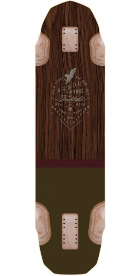 "Arbor Backlash 40"" Longboard Deck - 2015 - Blem"