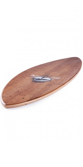 Arbor Bamboo Fish 38 Longboard Skateboard Complete