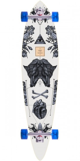 Arbor Bamboo Fish Longboard Complete - 37""