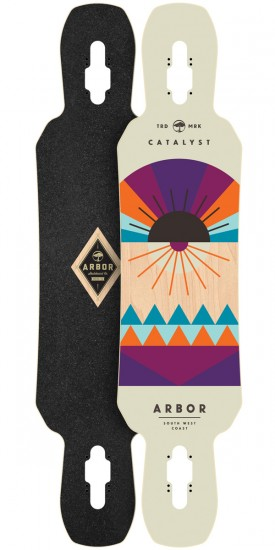 Arbor Catalyst Longboard Deck