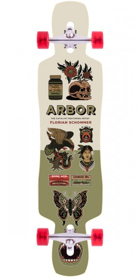 Arbor Artist Collection Catalyst GT Longboard Complete - 40""