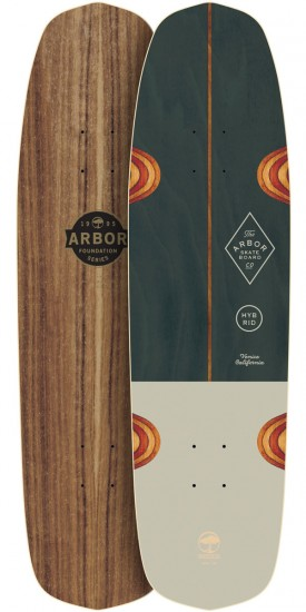Arbor Hybrid Foundation Longboard Deck - 2017