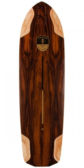 Arbor Liam Morgan Pro Model Longboard Deck