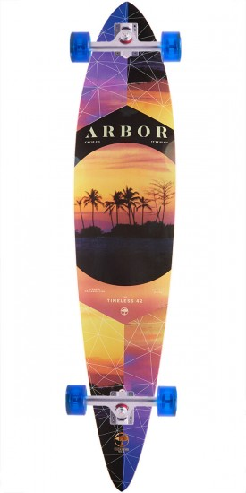 Arbor Photo Collection Walnut Timeless Longboard Complete - 42""