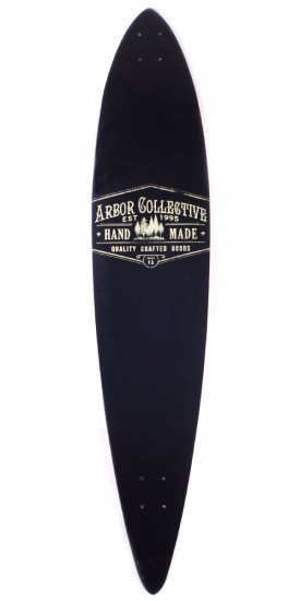 Arbor Timeless Pintail Reclaimed Longboard Skateboard Deck