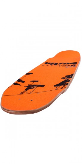 "Bustin Modela 33"" Longboard Skateboard Deck - City Orange"