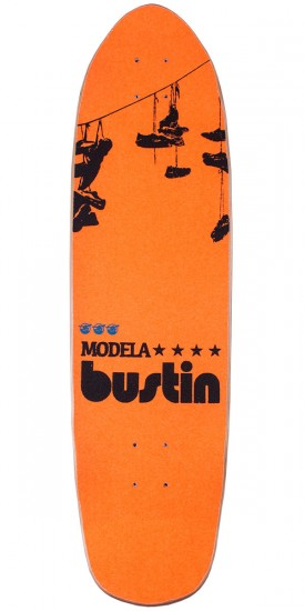 "Bustin Modela 33"" Longboard Skateboard Complete - City Orange"