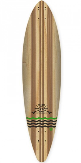 """Bustin NY Surf 38"""" Longboard Complete - 2015"""