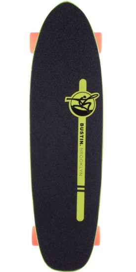 Bustin Boards Dime 29 Longboard Skateboard Complete - Yellow