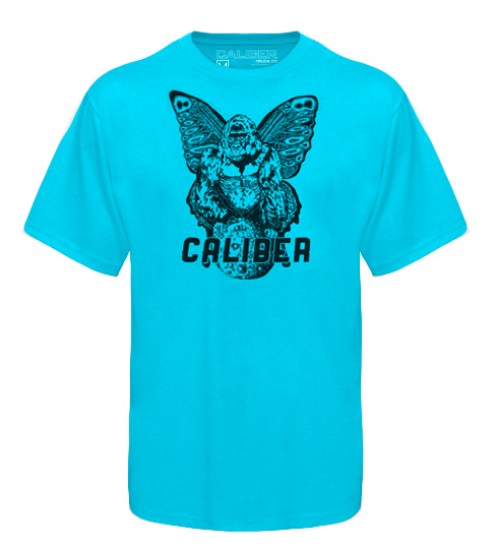 Caliber Trucks Gorilla Moon T-Shirt - Aqua