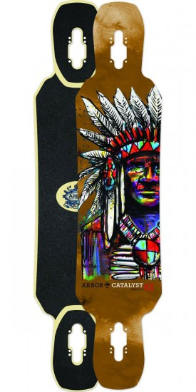 Arbor Catalyst 42 Longboard Skateboard Deck
