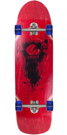 "Comet Shred 33"" Longboard Skateboard Complete - 2014 Red"
