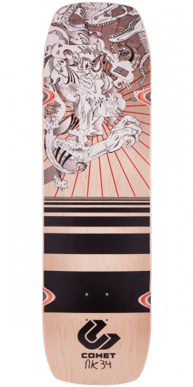 "Comet Shred 34"" Nick Ketner Longboard Deck"