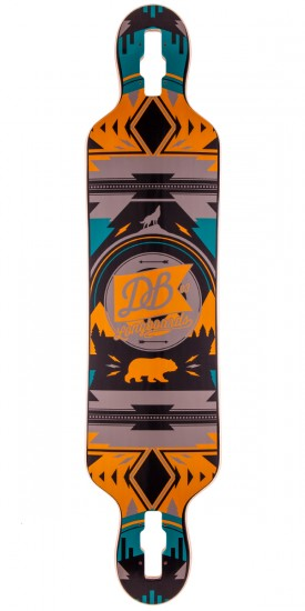 "DB Longboards Urban Native 40"" Longboard Deck"