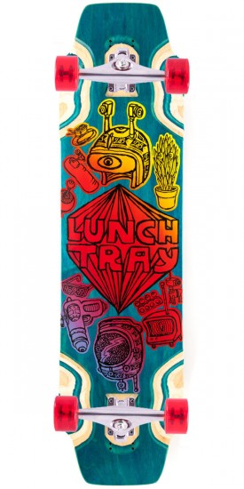 """DB Lunch Tray 36"""" Longboard Complete - Teal"""
