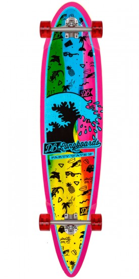 """DB Party Wave 38"""" Longboard Complete"""