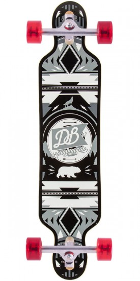 "DB Urban Native 38"" Longboard Complete - White/Grey - Blem"