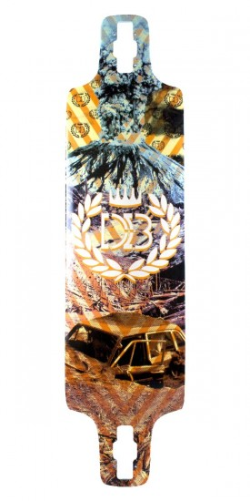 DB Longboards Double D Longboard Skateboard Deck