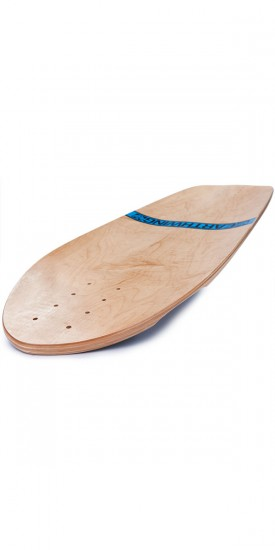 "Earthwing Hoopty 34"" Longboard Deck - Blue - Blem"