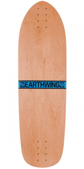"Earthwing Hoopty 34"" Longboard Skateboard Complete - Blue"