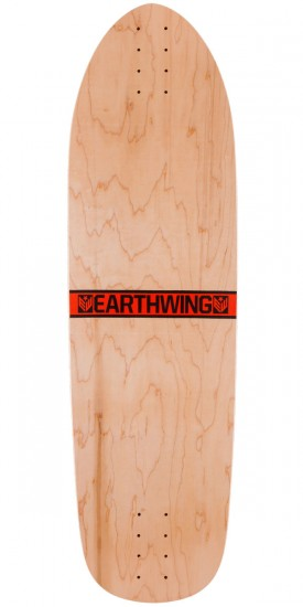 "Earthwing Hoopty 36"" Longboard Skateboard Deck - Orange"