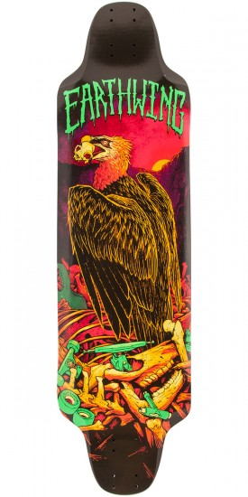 Earthwing Road Killer Vulture Graphic Longboard Deck - 35.5""