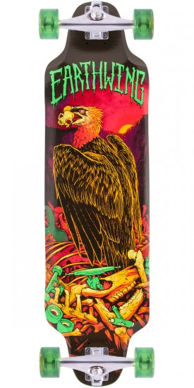 Earthwing Road Killer Vulture Graphic Longboard Complete - 35.5""