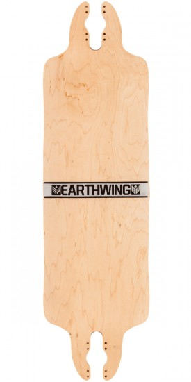 "Earthwing Scavenger 35"" Longboard Complete - Black/Silver/Gold"