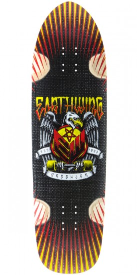 "Earthwing Thruster 36"" Longboard Skateboard Deck - Black"
