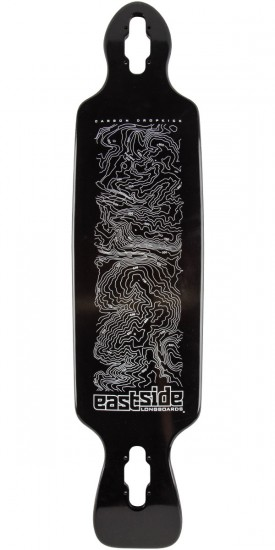 Eastside Carbon DropKick Longboard Skateboard Deck