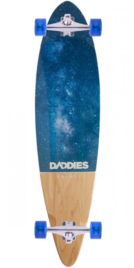 Daddies Galaxy Pintail Longboard Complete