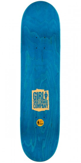 Girl Mike Carroll Spike It Skateboard Deck - 8.125""