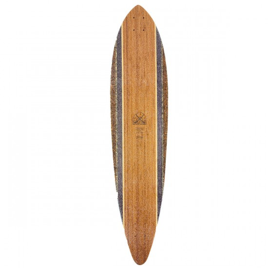 Globe Pintail Bamboo Longboard Deck - Climate Change - Blem